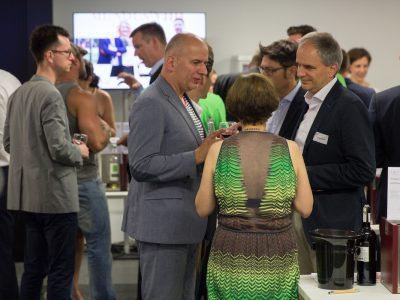 LFK-Jahresempfang 2016 mit Weintasting am Vorabend des Change Media Tasting 2016 - Fotografien von Christian Berg
